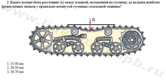 Билет №2, вопрос 2. Какова величина допускаемого увода самоходной машины от первичного направления при экстренном торможении (А)?